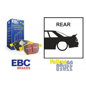 EBC Yellowstuff Rear Brake Pads - Nissan Skyline R32 R33 GTST R34 GTT GTR