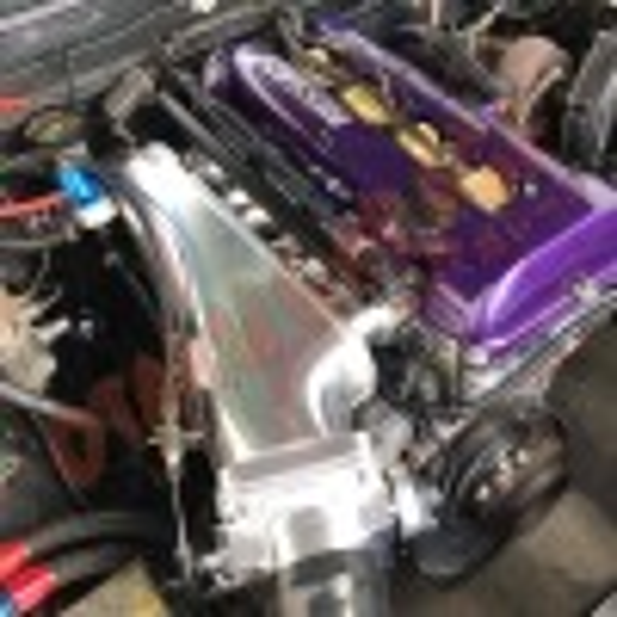Otaku Garage Billet Intake Manifold/ Forward Facing Plenum SR20DET S13 180SX / S14 200SX / S15