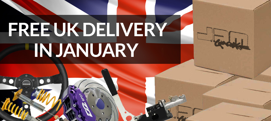 Free Delivery In January