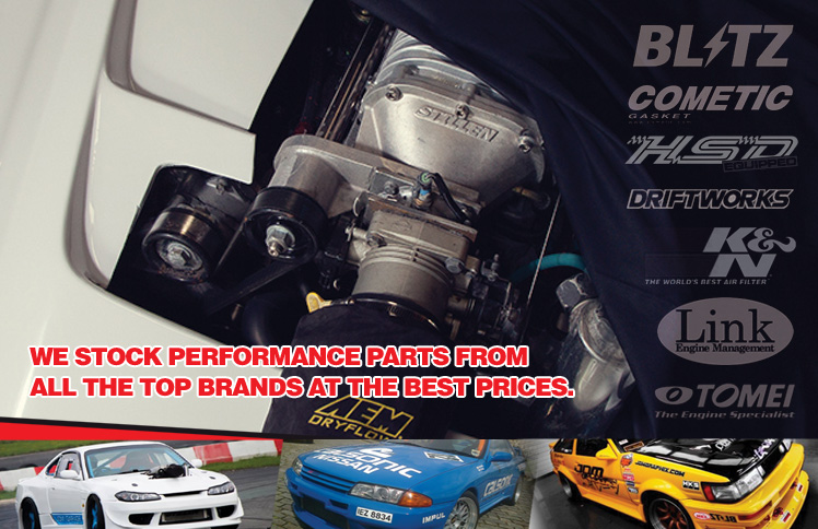 WE STOCK PERFORMANCE PARTS FROM ALL THE TOP BRANDS AT THE VERY BEST PRICES. CALL 01237 432 952 FOR EXPERT ADVICE.